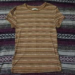 Urban Outfitters Striped Fitted Tee